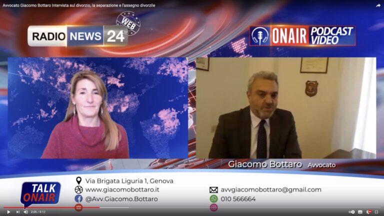 Avvocato Giacomo Bottaro Intervista sul divorzio